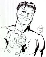 Green Lantern: Kyle Rayner - 2007 Signed Comic Art