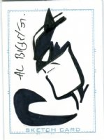 Batman Card Art - 2007 Signed Comic Art