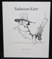 Solomon Kane Pencil / Ink Drawing - Signed Comic Art