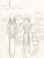 Karnak Prelim Sketches for Earth X Series - Signed Comic Art