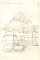Conan p.10 Splash Pirates Pencil Prelim Comic Art