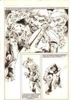 Savage Sword of Conan #85 p.23 - Conan Action vs. Afghuli - 1983 Comic Art