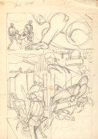 Flash Interior Pencil Prelim p.3  Comic Art