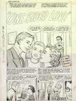 High School Romance #70 5 pager complete 'One Sided Love'  LA Comic Art