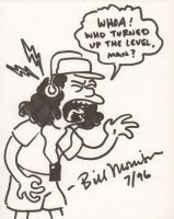 Otto Mann from the Simpsons - 1996 Signed Comic Art