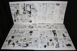 'Homecoming' 24 Page Complete Story - Atomic Explosion and Adult Super-Hero Content  Comic Art