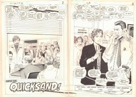 Lois Lane #2 p.2 - 'Chapter Three: Quicksand' Title DPS - 1986 Comic Art