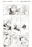 Future Imperfect #1 p.4 - Ruby Summers and Odin - 2015 Signed Comic Art