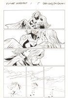 Future Imperfect #1 p.5 - Ruby Summers Saves Odin - 2015 Signed Comic Art