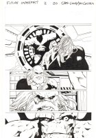 Future Imperfect #2 p.20 - Maestro with The Thing Imprisoned - 2015 Signed Comic Art