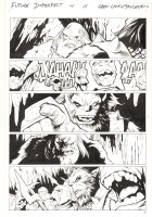 Future Imperfect #4 p.11 - Maestro and Ulik with Trolls in Nornheim - 2015 Signed Comic Art