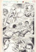 Cloak and Dagger #19 p.23 - Action - 1991 Signed Comic Art