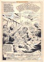 Superman Family #195 p.3 - Superboy Title Splash - 1979