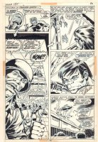 Incredible Hulk #158 p.26 - General Thunderbolt Ross and Hulk on Counter-Earth - 1972  Signed by Stan Lee! Comic Art
