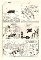 Filmation's Ghostbusters #2 p.29 - Flying Car - 1987 Comic Art