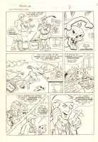 Filmation's Ghostbusters #1 p.7 - Skelephone - 1987 Comic Art