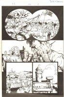 Fantastic Four #506 (77) p.5 - Invading Latveria - 2004 Comic Art