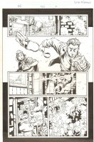 Fantastic Four #506 (77) p.2 - Robbery Thwarted - 2004 Comic Art