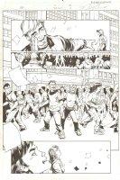 Fantastic Four #503 (74) p.4 - Crowd of People - 2003 Comic Art
