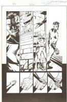 Fantastic Four #504 (75) p.22 - Whole Team F4 #1 Homage - 2003 Signed Comic Art