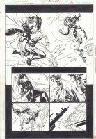 Countdown #20 p.17 - Mary Marvel vs. Eclipso - 2008 Comic Art