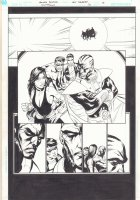 Countdown #20 p.8 - Great Donna Troy and Green Lantern Kyle Rayner - 2008 Comic Art