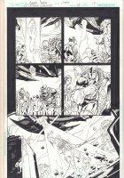 DC Universe Online Legends #24 p.17 - Deathstroke Beamed - 2012 Comic Art