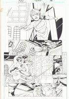 DC Universe: Decisions #2 p.17 - Power Girl and Green Lantern - 2008 Comic Art