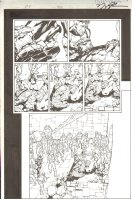 Fantastic Four #508 pg 21 - Death of Thing - Signed Comic Art