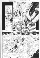 DC Universe: Decisions #4 p.6 - Awesome Green Lantern, Green Arrow, Hawkgirl Comic Art