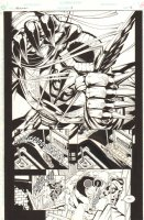 Hawkman #31 p.18 - Hawkman Splash - 1996 Comic Art