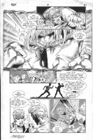 Ray #0 p.21 - Great portrait of Ray - 1994 Comic Art