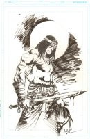 Conan the Barbarian Commission - Signed Comic Art