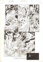 Green Lantern #22 p.18 - Green Lanterns Action - 2007  Comic Art
