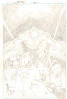Brightest Day #5 Cover - Deadman, Hawk and Dove - 2010 Signed Comic Art