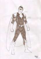 Hero Character Design - Signed Comic Art