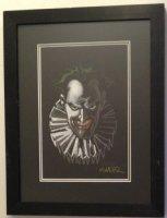 The Joker Portrait Color Commission - Signed Comic Art