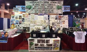Start making your plans to come meet us this year on the Convention Circuit! Comic Art