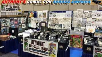Comic Con Across America 2018 Update - NOW through Sunday (7/22) we'll be at the SAN DIEGO COMIC CON at TWO locations: booth #s 5504 and 4417 Comic Art