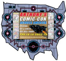 COMIC CON ACROSS AMERICA 2018 - Check out our cross country road trip itinerary!  Comic Art