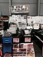 NYCC Mega Set-Up 2015 (F) Comic Art