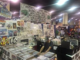 Come meet us and pick up some original comic book artwork at HeroesCon! Booth #822, 921 right next to Artist Alley! <br> <p> Today's hours are 10am-6pm and tomorrow is 11am-6pm.  Comic Art