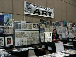 See us at Anaheim WonderCon Booth #854 Comic Art
