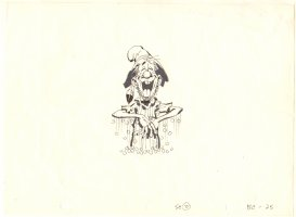 Animation Art Sc #2 BC - 25 Comic Art