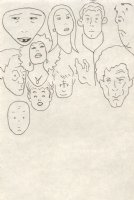 Eleven Faces Comic Art