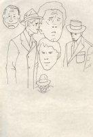 Six Men Comic Art