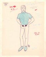 The Bestfit Alpine Boy #2 - Signed Comic Art