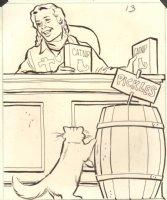 Annie And Catnip Kitty Comic Art