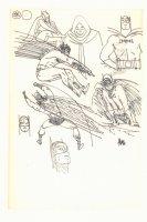 Batman Sketches - Full, Bust, and Portraits - Signed  Comic Art