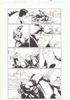 Midnighter - Issue 19 Pg 17 - Signed by Rick Burchett Comic Art